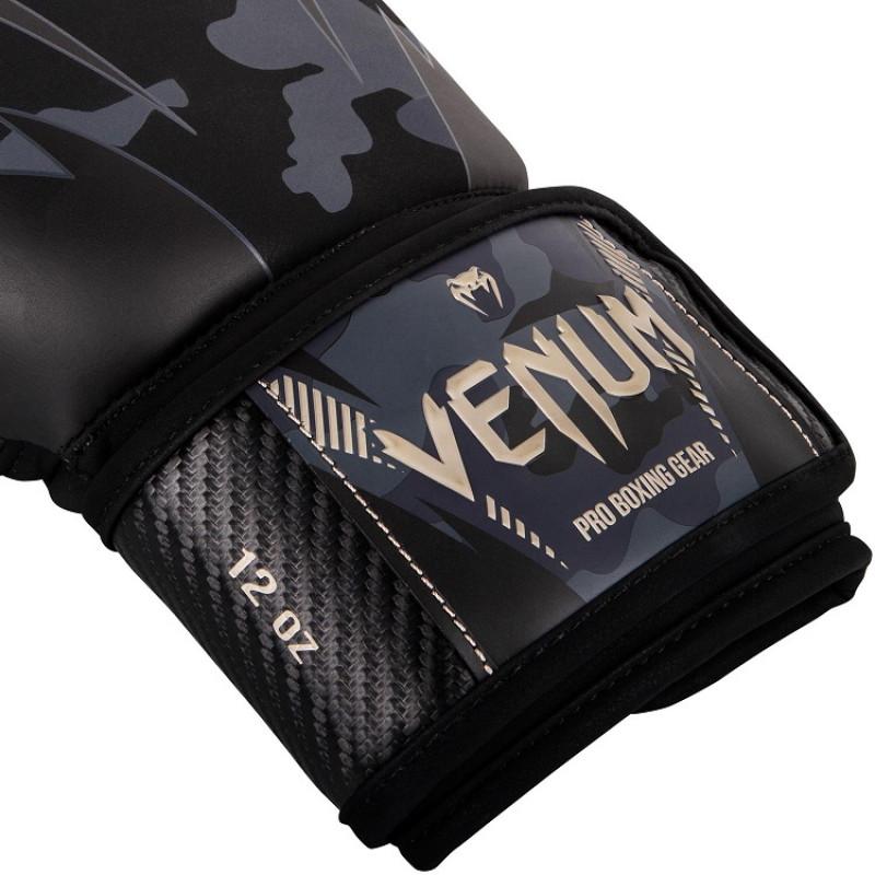 Перчатки Venum Impact Boxing Dark Camo/Sand (01358) фото 3
