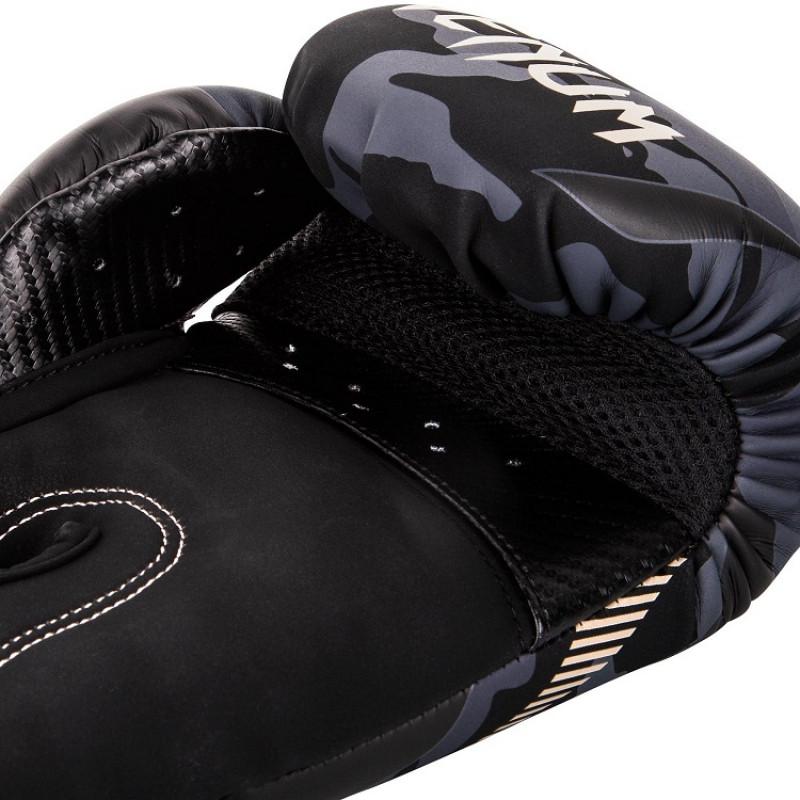 Перчатки Venum Impact Boxing Dark Camo/Sand (01358) фото 4