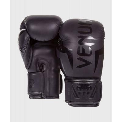 Боксёрские перчатки Venum Elite Boxing Glove Black (02184) фото 2