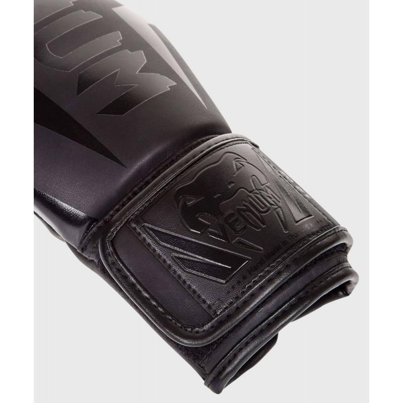 Боксёрские перчатки Venum Elite Boxing Glove Black (02184) фото 3