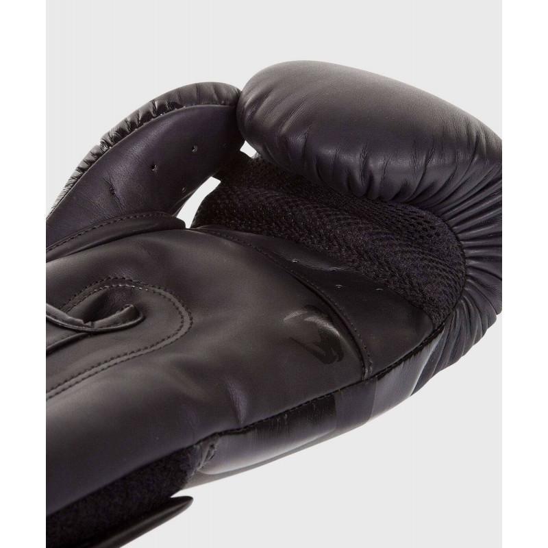Боксёрские перчатки Venum Elite Boxing Glove Black (02184) фото 4