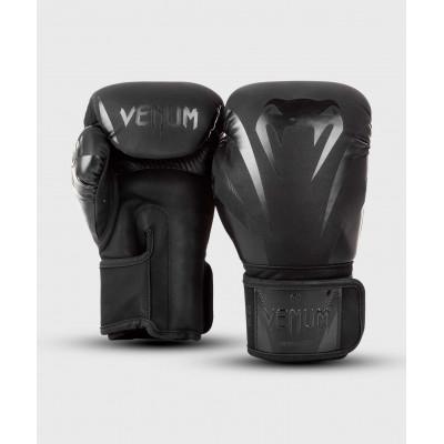 Боксёрские перчатки Venum Impact Boxing Gloves B/B (02027) фото 2