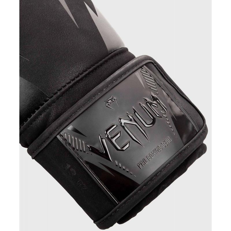 Боксёрские перчатки Venum Impact Boxing Gloves B/B (02027) фото 3