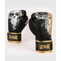 Боксёрские перчатки Venum Skull Boxing Black