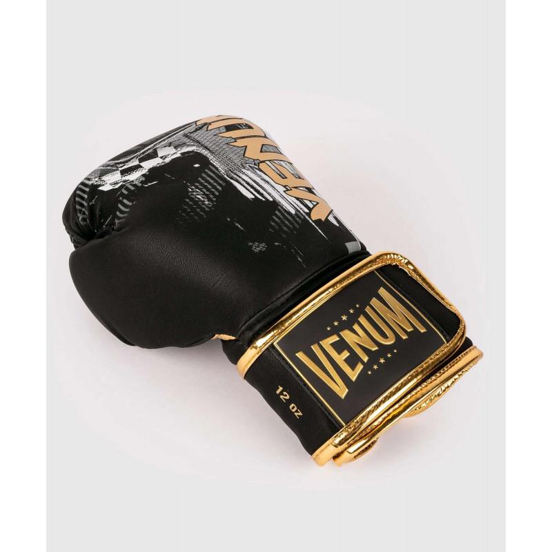 Боксерські рукавиці Venum Skull Boxing Black (01957) фото 4