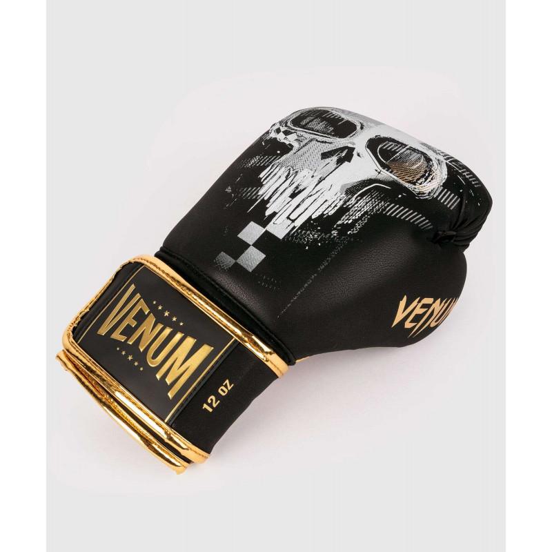 Боксерські рукавиці Venum Skull Boxing Black (01957) фото 3