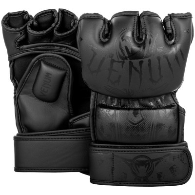 Перчатки Venum Gladiator 3.0 MMA Gloves Black (01559)