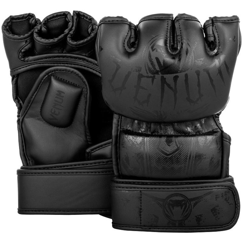 Перчатки Venum Gladiator 3.0 MMA Gloves Black (01559) фото 1