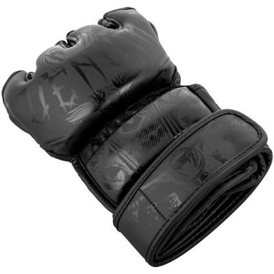Перчатки Venum Gladiator 3.0 MMA Gloves Black (01559) фото 4