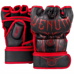 Перчатки Venum Gladiator 3.0 MMA Gloves Black/Red