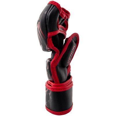 Перчатки Venum Gladiator 3.0 MMA Gloves Black/Red (01557) фото 3