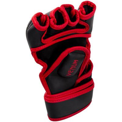 Рукавиці Venum Gladiator 3.0 MMA Gloves Black/Red (01557) фото 2