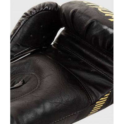 Рукавиці Venum Impact Boxing Gloves Gold/Black (02060) фото 4
