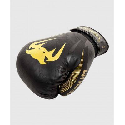 Рукавиці Venum Impact Boxing Gloves Gold/Black (02060) фото 6