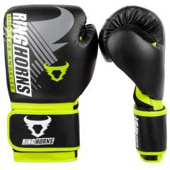 Рукавиці Ringhorns Charger MX Boxing Black/Neo Yellow