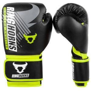 Перчатки Ringhorns Charger MX Boxing Black/Neo Yellow