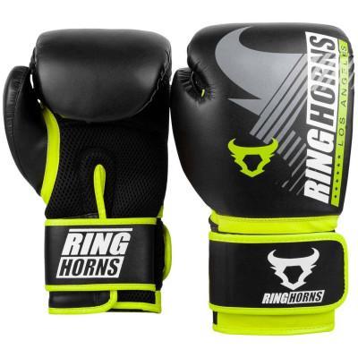 Рукавиці Ringhorns Charger MX Boxing Black/Neo Yellow (02169) фото 2