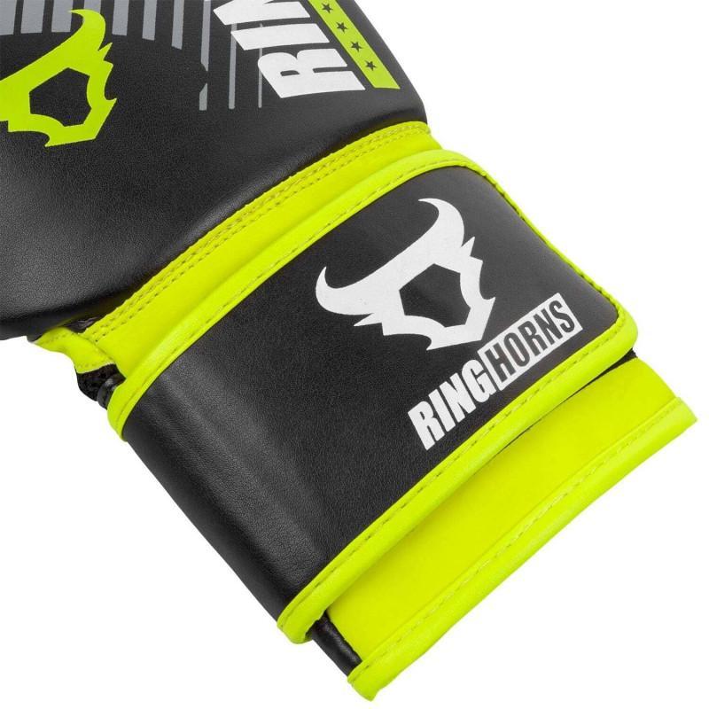 Рукавиці Ringhorns Charger MX Boxing Black/Neo Yellow (02169) фото 5