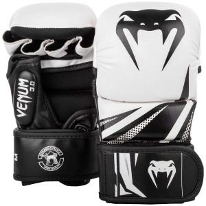 Перчатки для спаррингов Venum Challenger 3.0 Черные/Белые