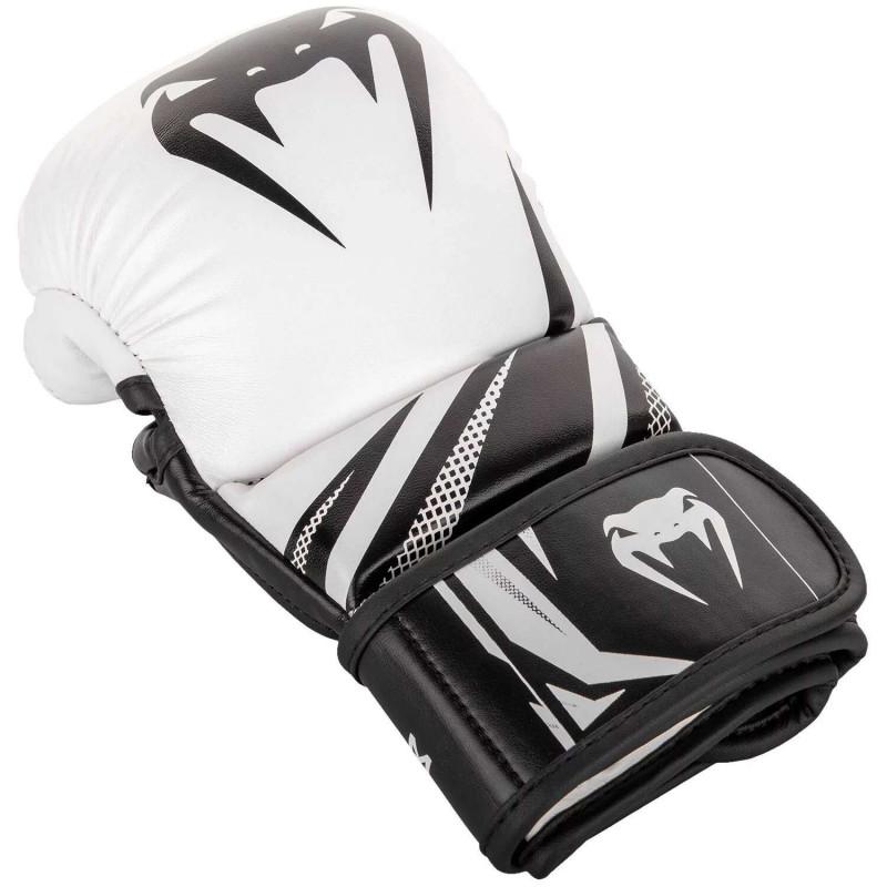 Перчатки для спаррингов Venum Challenger 3.0 Черные/Белые (01844) фото 3