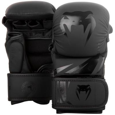 Перчатки Venum Challenger 3.0 Sparring Gloves Black (01570) фото 1