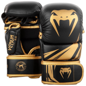 Перчатки Venum Challenger 3.0 Sparring Gloves Black/Gold