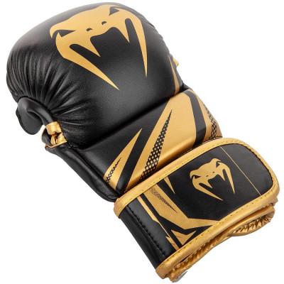 Рукавиці Venum Challenger 3.0 Sparring Gloves Black/Gold (01577) фото 3