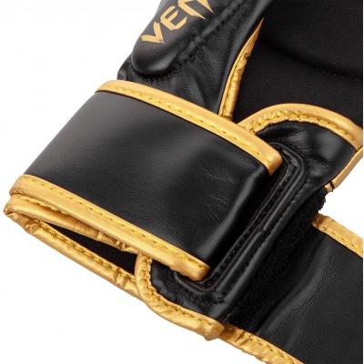 Рукавиці Venum Challenger 3.0 Sparring Gloves Black/Gold (01577) фото 6