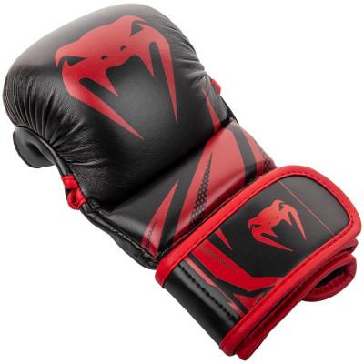 Перчатки Venum Challenger 3.0 Sparring Gloves Black/Red (01576) фото 4