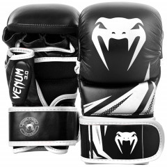 Перчатки Venum Challenger 3.0 Sparring Gloves Black/White