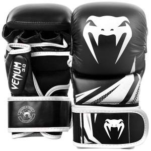 Перчатки Venum Challenger 3.0 Sparring Gloves Black/White