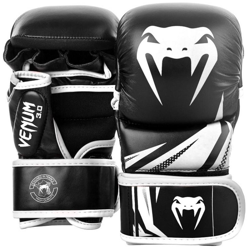 РукавиціVenum Challenger 3.0 Sparring Gloves Black/White (01571) фото 1