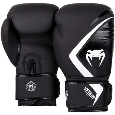 Боксерские перчатки Venum Contender 2.0 Чёрные/Серый (01558) фото 2