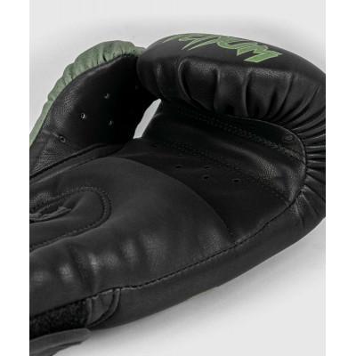 Перчатки Venum Boxing Lab Gloves Black/Green (02091) фото 6