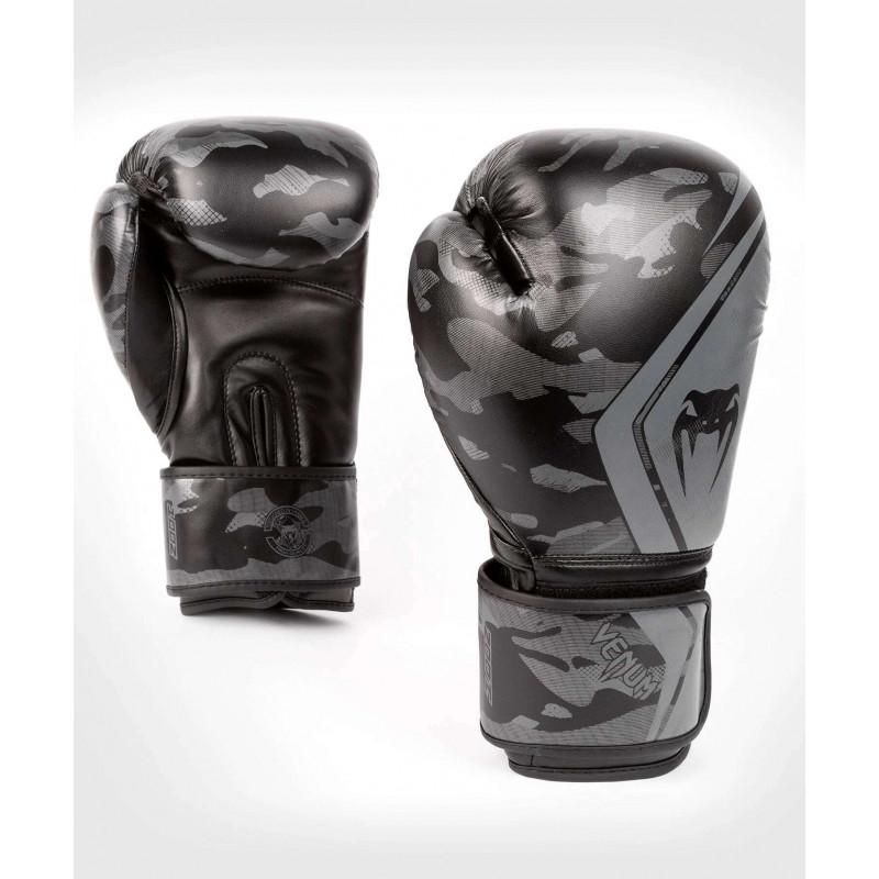 Перчатки Venum Defender Contender 2.0 Black/Black (01968) фото 1