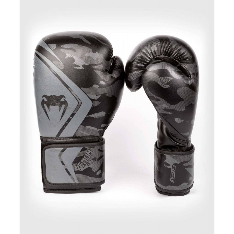 Перчатки Venum Defender Contender 2.0 Black/Black (01968) фото 2