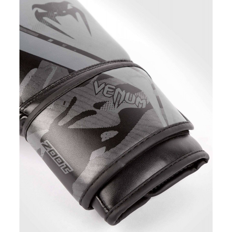 Перчатки Venum Defender Contender 2.0 Black/Black (01968) фото 3