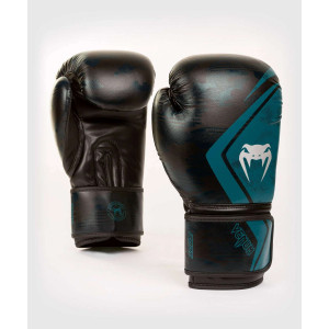 Перчатки Venum Defender Contender 2.0 Black/Green