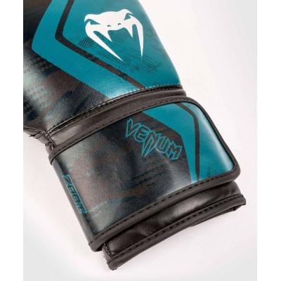 Перчатки Venum Defender Contender 2.0 Black/Green (01969) фото 4