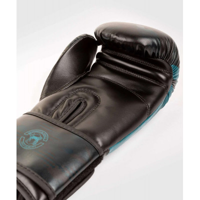 Перчатки Venum Defender Contender 2.0 Black/Green (01969) фото 5