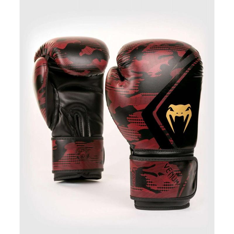 Перчатки Venum Defender Contender 2.0 Black/Red (01970) фото 1