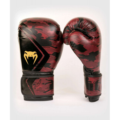 Перчатки Venum Defender Contender 2.0 Black/Red (01970) фото 2