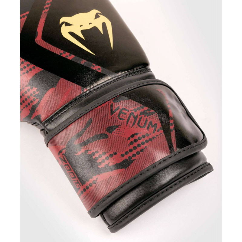 Рукавиці Venum Defender Contender 2.0 Чорний/Червоний (01970) фото 3