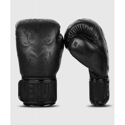 Рукавиці Боксерські рукавиці Venum Devil Чорний/Чорний (01992) фото 2