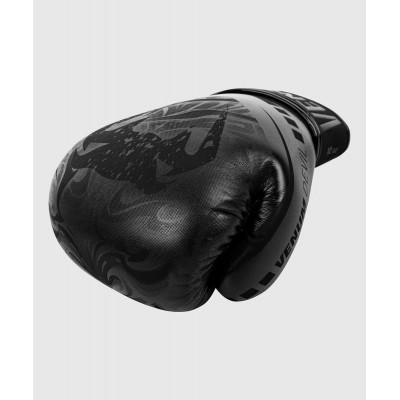Рукавиці Боксерські рукавиці Venum Devil Чорний/Чорний (01992) фото 5