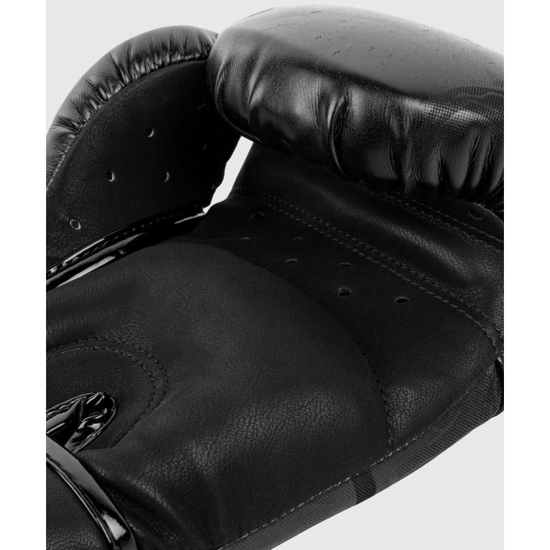 Рукавиці Боксерські рукавиці Venum Devil Чорний/Чорний (01992) фото 6