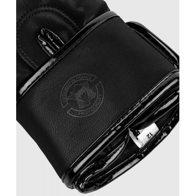 Рукавиці Боксерські рукавиці Venum Devil Чорний/Чорний (01992) фото 7