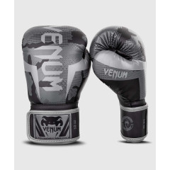 Перчатки Venum Elite Boxing Gloves Black/Dark camo