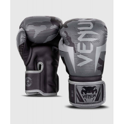 Перчатки Venum Elite Boxing Gloves Black/Dark camo (01999) фото 2