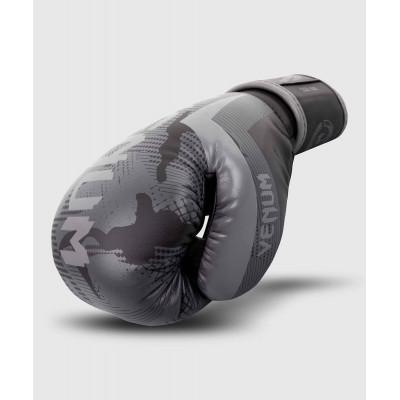Перчатки Venum Elite Boxing Gloves Black/Dark camo (01999) фото 4